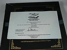 An Unopened Copy of An Invitation to the White House Signed by Hillary Clinton