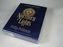 An Unopened Copy of Northern Lights by Philip Pullman