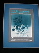 A Framed Terms of Endearment Poster signed by Shirley Maclaine