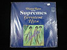 A Vinyl Lp Greatest Hits by Diana Ross and The Supremes signed by Diana Ross