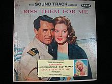 A Vinyl Copy of the Kiss Them For Me Soundtrack 1957