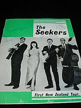 A Seekers New Zealand Tour Program 1965