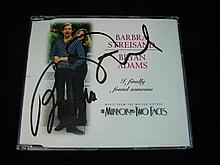 A Babara Streisand Autographed CD