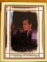 Keifer Sutherland, Christmas card and signed