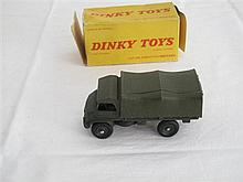 A French Dinky Toys No 821 Mercedes Benz Unimog
