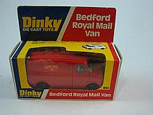 A Dinky Toy 410 Bedford Royal Mail Van 1972-74