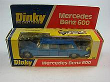 A Dinky Toys 128 1978 Mercedes Benz 600 Box Type I