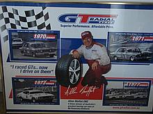 An Alan Moffat GT Radial Tyres Advertisement Poster