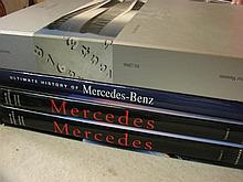 Three Mercedes Benz Books