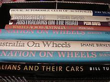 Eight Books Relating to Australasian Motoring