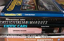 Eight Various Motoring Reference Books