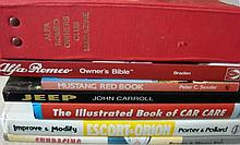 Seven Motoring Reference Books