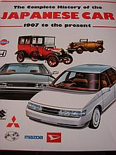 A Copy of The Complete History of Japanese Cars 1907 to the present