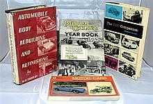 Six motoring related titles,
