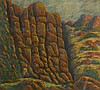 Bill Warren Bushranger Country Pastel on paper
