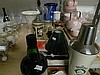 Shelf Lot Home Decorative Items Including; Jugs, Vases, Ashtrays, Boxed Coaster Sets Port, cocktail shaker Etc