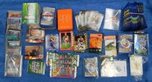 A bag of assorted collector & other cards