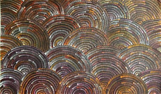 Janet Golder Kngwarreye (b.1973) Women's Body Paint 2007 Acrylic on canvas