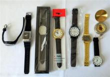 A collection of mens watches incl. Casio, Escatto, Weijieer & Rip Curl