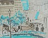 Lou Clay New York, Central Park c.1969 Fibre tipped pen