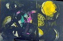 Joe Rose (1915-) Abstract Colour lithograph