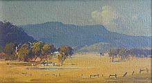 Graham Cox (b.1941) Streeton Country 1975 Oil on canvas board