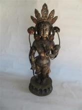 A Thai or Nepalese Standing Buddha
