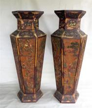 A Pair of Chinese Stands