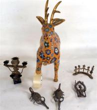 A Collection of Asian Metal items