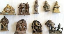 A Collection of Brass and Bronze Buddha Images