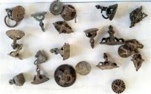 A Quantity of Assorted Bronze Stamps