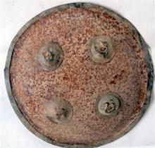 An Asian Metal War Shield