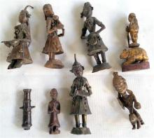 A Collection of Southeast Asian Figures