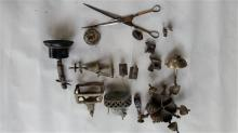 A Quantity of Indian Bronze Items