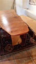 A Handmade Huon Pine Table and Benches