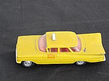 A Corgi Toy Model of a Chevorlet Impala Taxi