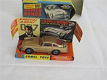 A Corgi Toy Model 261 James Bond Aston Martin DB5 complete with box