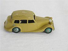 A Dinky Toy Post War 40 Series No 40B Triumph 1800 Saloon