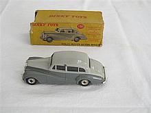 A Dinky Toy Rolls-Royce Silver Wraith Type 2