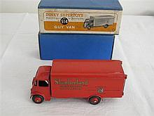 A Dinky Supertoys Guy Van