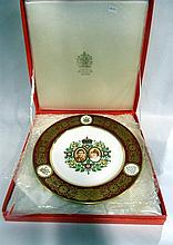 A Boxed Spode, Royal Wedding commemorative plate
