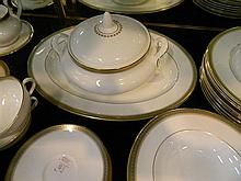 A Royal Doulton 'Clarendon' dinner set for eight plus spares