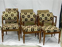 Six Parker dining chairs