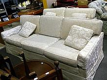 A four seater and a three seater lounges