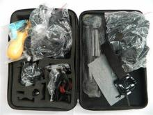 An action camera accessories kit