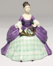 A Royal Doulton limited edition musicians figurine 'French Horn',