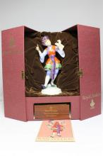 A Royal Doulton limited edition 'Dancers of the World' figurine of a Chinese Dancer