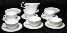 A Royal Doulton 'French Provincial' part tea set, together with a similar Royal Doulton jug (20)