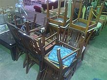 Fifteen Various Chairs