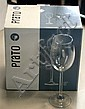 Three boxes of six Prato white wine glasses (18 in total)